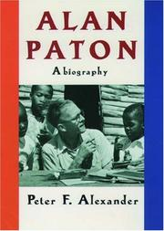 Cover of: Alan Paton: a biography