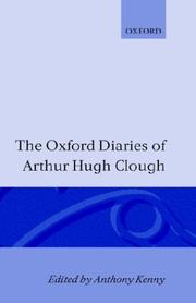 Cover of: The Oxford diaries of Arthur Hugh Clough