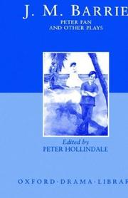 Cover of: Peter Pan and Other Plays