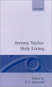 Cover of: Holy living ; and, Holy dying | Taylor, Jeremy