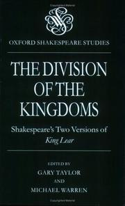 Cover of: The Division of the Kingdoms |