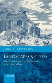 Cover of: Landscapes and Cities | John R. Patterson