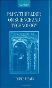 Cover of: Pliny the Elder on science and technology