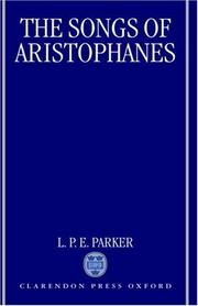 Cover of: The songs of Aristophanes