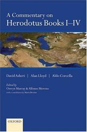 Cover of: A commentary on Herodotus books I-IV
