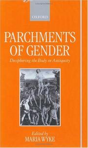 Cover of: Parchments of Gender