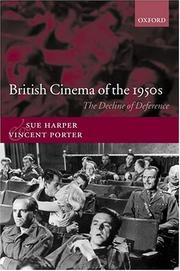 Cover of: British cinema of the 1950s