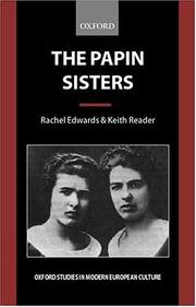 Cover of: The Papin sisters
