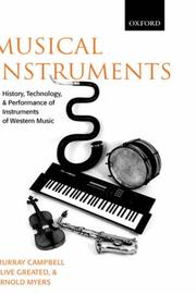 Cover of: Musical instruments | Murray Campbell