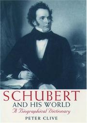 Cover of: Schubert and his world