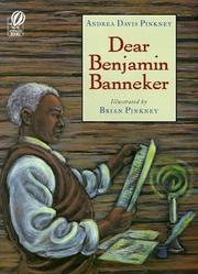 Cover of: Dear Benjamin Banneker | Andrea Davis Pinkney