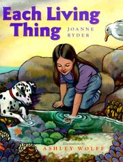 Cover of: Each living thing