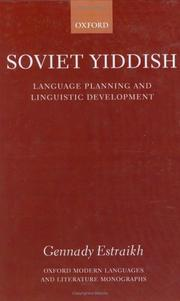 Cover of: Soviet Yiddish
