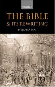 Cover of: The Bible and its rewritings