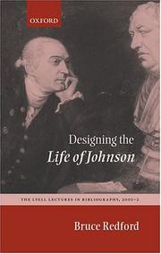 Cover of: Designing the Life of Johnson