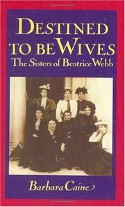 Destined to be wives by Barbara Caine