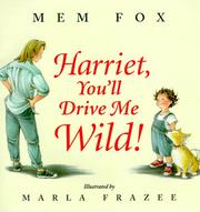 Cover of: Harriet, You'll Drive Me Wild