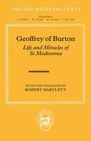 Cover of: Geoffrey of Burton