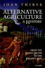Cover of: Alternative Agriculture: A History