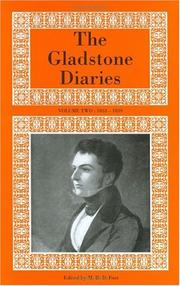 Cover of: The Gladstone Diaries: Volumes I & II | Gladstone, W. E.