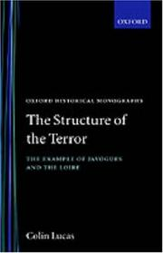 Cover of: The structure of the Terror
