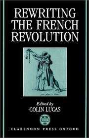 Cover of: Rewriting the French Revolution