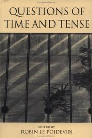 Cover of: Questions of time and tense |