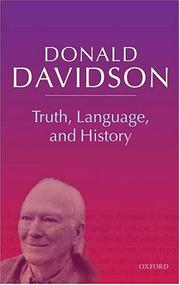 Cover of: Truth, language and history