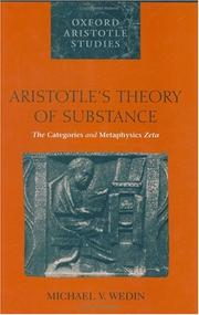 Cover of: Aristotle
