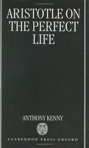 Cover of: Aristotle on the perfect life
