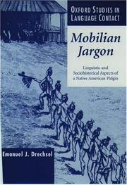 Cover of: Mobilian Jargon