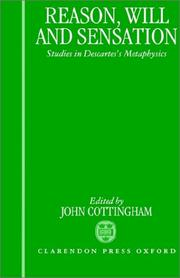 Cover of: Reason, Will, and Sensation | John Cottingham
