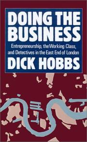 Cover of: Doing the business | Dick Hobbs