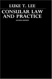 Cover of: Consular law and practice