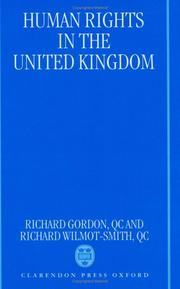 Cover of: Human rights in the United Kingdom