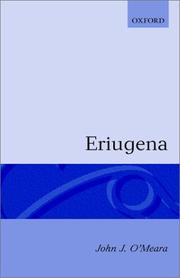 Cover of: Eriugena