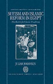 Cover of: Sufism and Islamic reform in Egypt