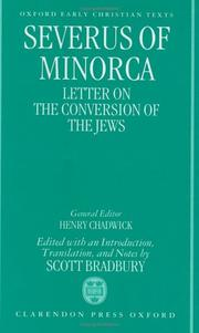 Cover of: Letter on the conversion of the Jews