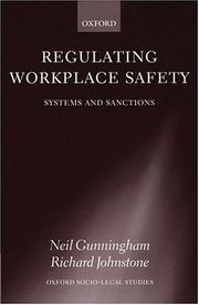 Cover of: Regulating workplace safety