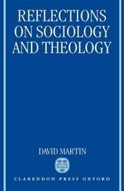 Cover of: Reflections on sociology and theology