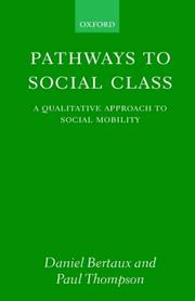 Cover of: Pathways to social class