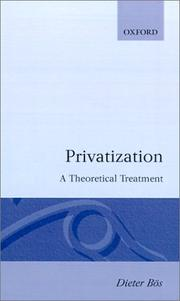 Cover of: Privatization