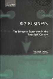 Cover of: Big business