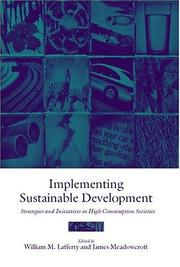 Cover of: Implementing sustainable development |