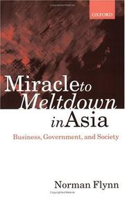 Cover of: Miracle to Meltdown in Asia
