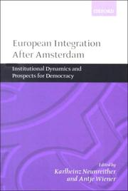 Cover of: European Integration after Amsterdam |