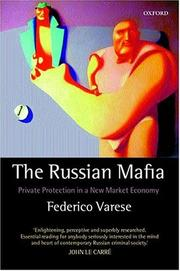 Cover of: The Russian Mafia