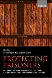 Cover of: Protecting Prisoners |