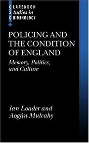 Cover of: Policing and the condition of England