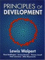 Cover of: Principles of development |